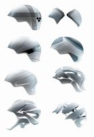 Some helmets by everydaydennis