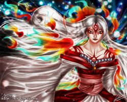 Okami White Light Majesty by Getsuart