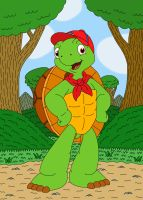 Franklin the Turtle by MCsaurus