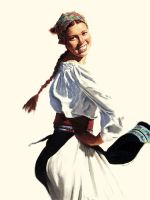 Female Russian Dancer by gtsmover
