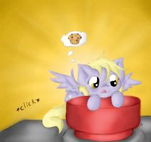Muffin Button by SpectralPony