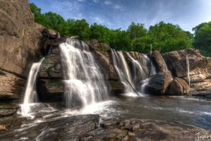 High Falls Horizontal HDR by jnati