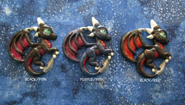Cynder ornaments by DragonCid