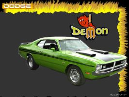 Dodge Demon by orishaz
