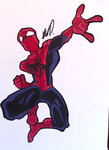 Spiderman Drawing by AnthonyParenti