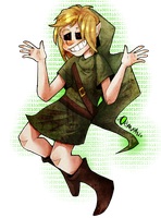 |BEN Drowned Fanart| And what? by 0ktavian