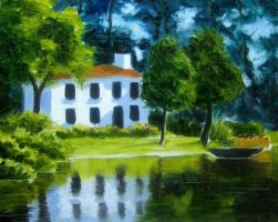 House by the Lake by ronnietucker