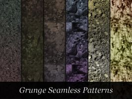 Dark Grungy Patterns by xara24
