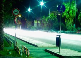 Strade, di notte by Echoe7