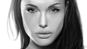 Angelina Jolie by Sinate