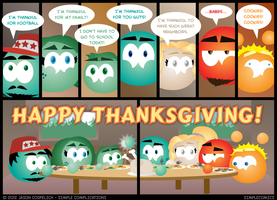 SC375 - Aquarius Thanksgiving 15 by simpleCOMICS