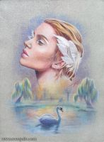 The Swan Princess by SvenjaLiv
