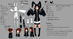 Reference Sheet: T.K. by Yanamari