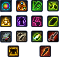 SWTOR Crew Skills Icons by AngelFluttershy