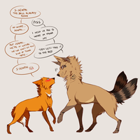homo yaoi dogES by suohii