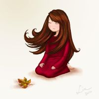Death of a Leaf by AmandinaBiscuit