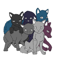 Base: wolf pups by Midnightflaze