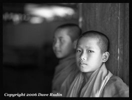 Young Monks, Laos, 2006 by DaveR99
