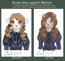 Draw Again Contest Entry by Blesses