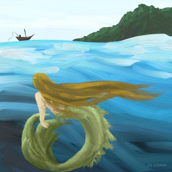 The Sea Maiden by jacij