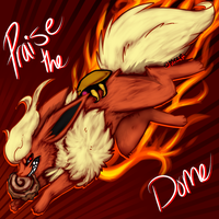 Praise the dome by MystikMeep