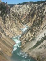 Yellowstone canyon by gorillazure