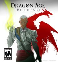 Dragon Age Veilheart - Legend of the Inquisitor by catchingspiders