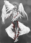Goretober #16 Painful Transformation by ChesireHats