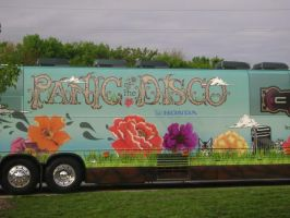 Panic At The Disco HCT Bus by JenovaRemnant