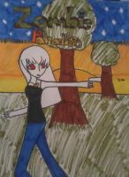 Zombie Paradise: Annabelle by Spookyx12