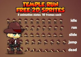 Temple Run - Free Sprite by pzUH