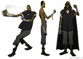 Man with the Iron Fist- unused RZA design by ChaseConley