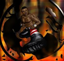 Jax - Mortal Kombat tribute by argeiphontes