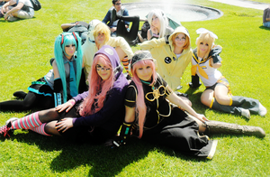 Vocaloid group 4 by AliceNero