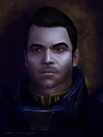 Mass Effect: Kaidan Alenko by ruthieee