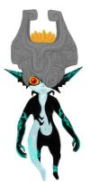 Midna Attempt Color by camarosquid