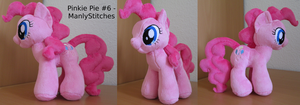 Pinkie Pie #6 by ManlyStitches