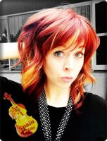 Lindsey Stirling new haircut for LSS by JuLyYang
