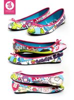 Bobsmade Katamari Shoes by Bobsmade