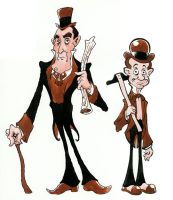 Haunted Mansion characters by JonBeanHastings