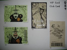 jack and mayor vip cards by BatPumpkin