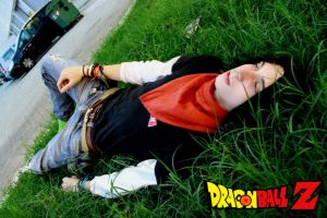 C17 Cosplay - Dragonball Z by LordProtoMan