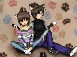 Kitty Paws by UmiHoshi