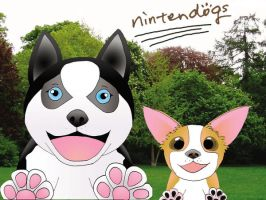 Nintendogs by wolveslover