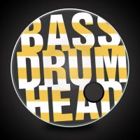 Realistic Bass Drum Head Template by JamesRuthless