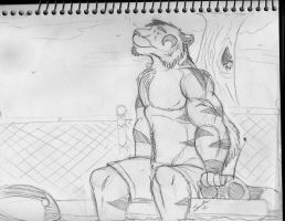 Pool Side WIP by Songficcer