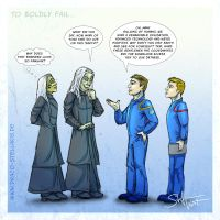 To Boldly Fail by Draco-Stellaris
