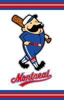 Montreal Wanderers Baseball Concept Logo by Sportsworth