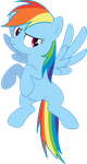 Rainbowdash angry in Ep10. by sunran80
