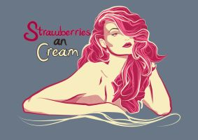 Strawberries an Cream by PKLdesigner